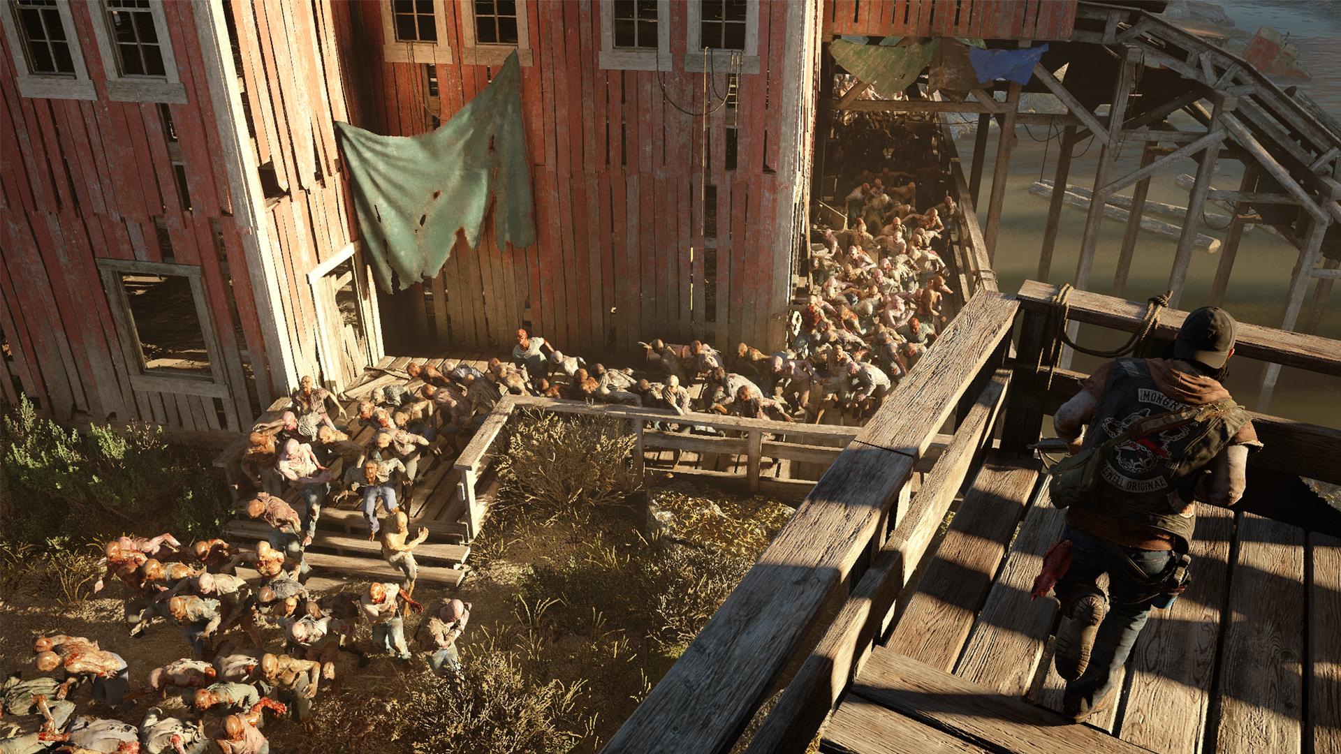 『Days Gone』ゲーム画面