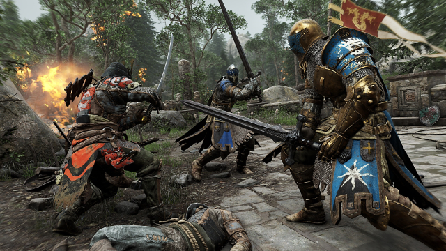 For Honor ゲーム画面2