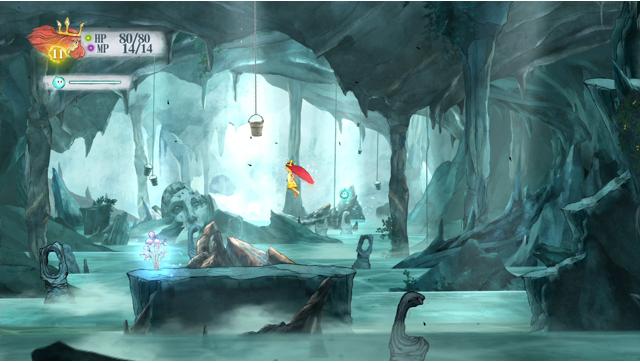 チャイルド オブ ライト ゲーム画面2