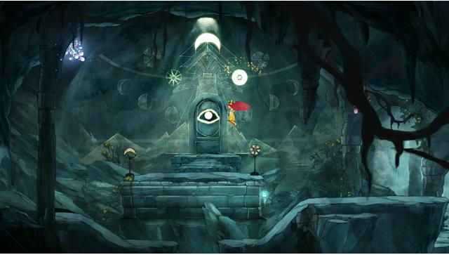 チャイルド オブ ライト ゲーム画面3