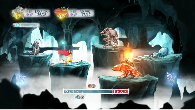 チャイルド オブ ライト ゲーム画面6