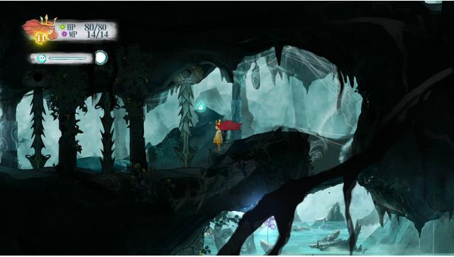 チャイルド オブ ライト ゲーム画面7