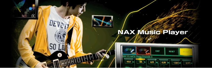 NAX Music Player バナー画像
