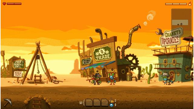 スチームワールド ディグ ゲーム画面5