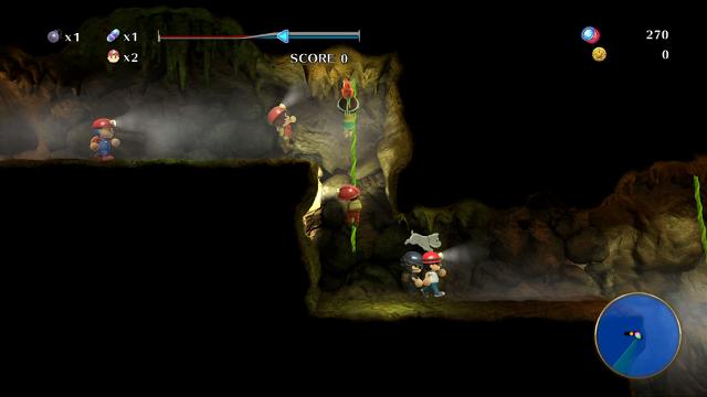 みんなでスペランカーZ ゲーム画面7