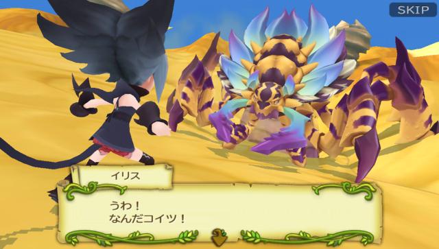 聖剣伝説 RISE of MANA ゲーム画面6