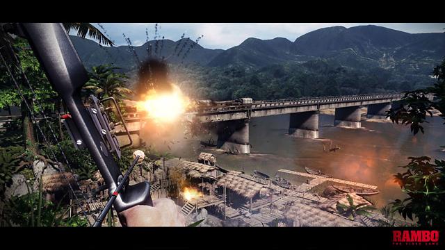 RAMBO THE VIDEO GAME ゲーム画面2