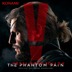 METAL GEAR SOLID V: THE PHANTOM PAIN ジャケット画像