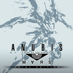 ANUBIS ZONE OF THE ENDERS : M∀RS TRIAL EDITION ジャケット画像