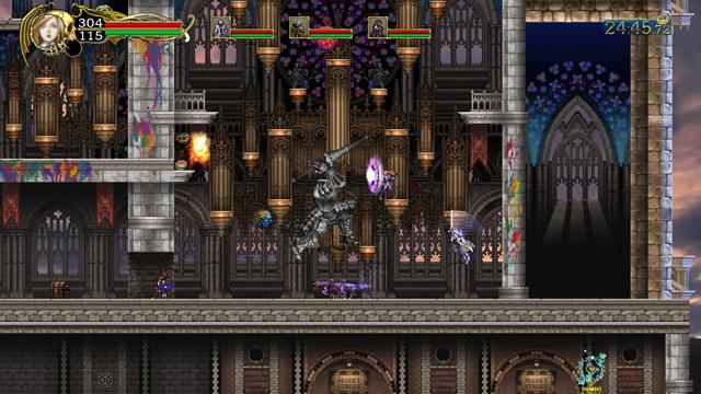 悪魔城ドラキュラ Harmony of Despair ゲーム画面4