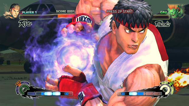 ULTRA STREET FIGHTER IV ゲーム画面1