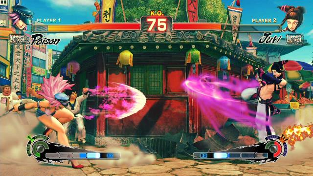 ULTRA STREET FIGHTER IV ゲーム画面2