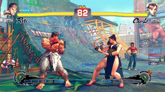 ULTRA STREET FIGHTER IV ゲーム画面6