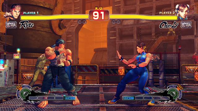 ULTRA STREET FIGHTER IV ゲーム画面8