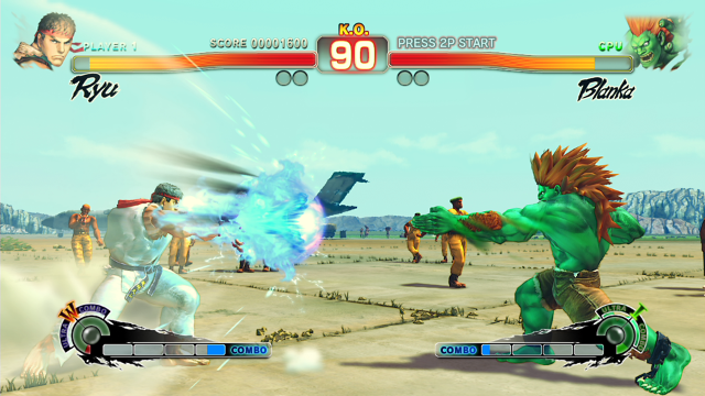 ULTRA STREET FIGHTER IV ゲーム画面9