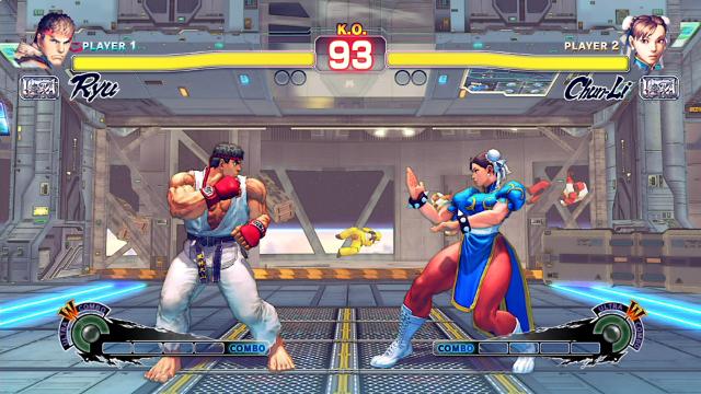 ULTRA STREET FIGHTER IV ゲーム画面10