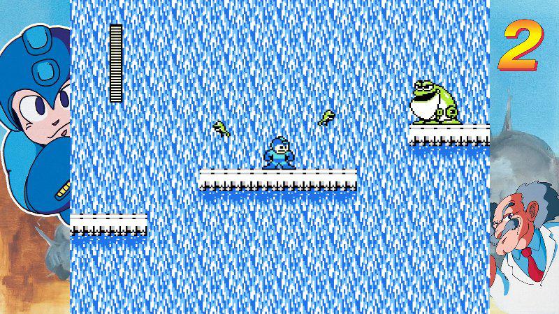 『ロックマン クラシックス コレクション』ゲーム画面