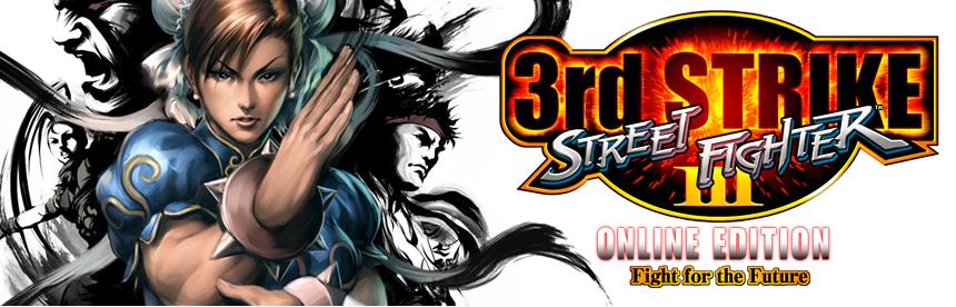ストリートファイター III 3rd STRIKE ONLINE EDITION バナー画像