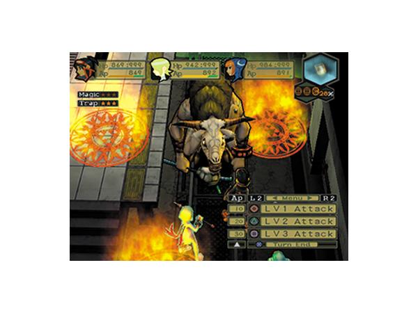 ブレス オブ ファイア V ドラゴンクォーター ゲーム画面3
