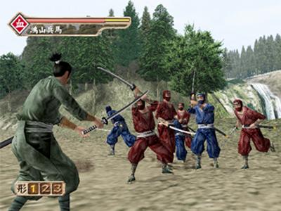 剣豪3 ゲーム画面5