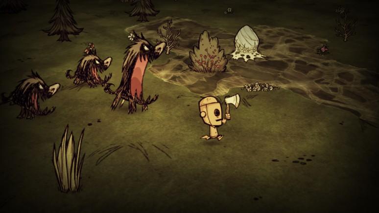 『Don't Starve』ゲーム画面