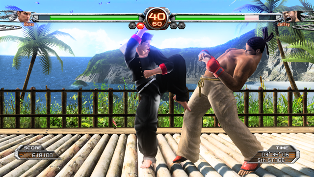 Virtua Fighter5 Final Showdown ゲーム画面1