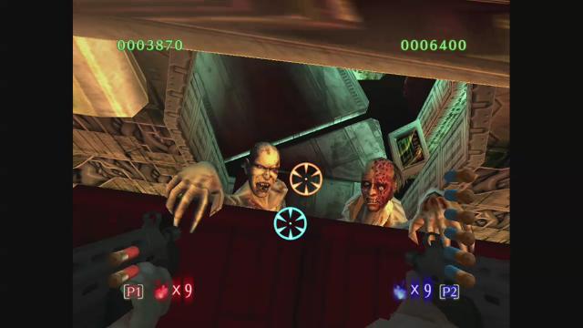 ザ・ハウス・オブ・ザ・デッド3 ゲーム画面2