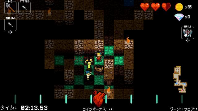 クリプト・オブ・ネクロダンサー ゲーム画面7