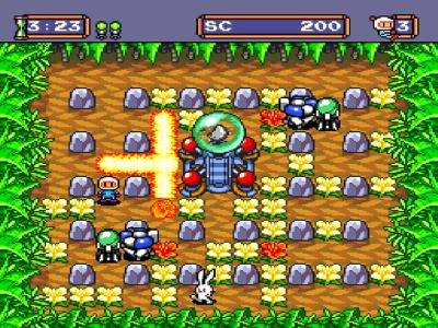 ボンバーマン '94 ゲーム画面1