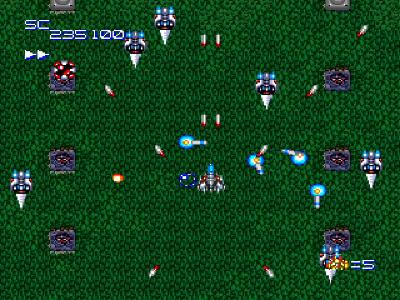スーパースターソルジャー ゲーム画面2