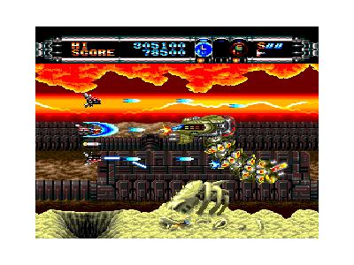 ゲート オブ サンダー ゲーム画面3