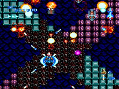 ブレイジングレーザーズ ゲーム画面2
