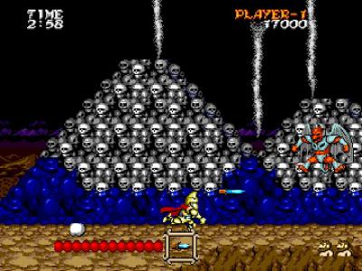 大魔界村 ゲーム画面2