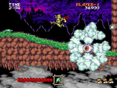 大魔界村 ゲーム画面3