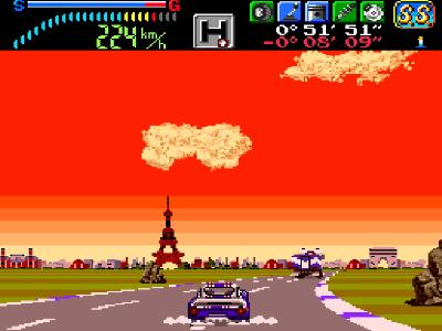 ビクトリーラン ゲーム画面2