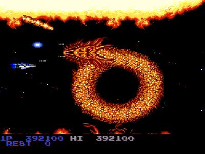 沙羅曼蛇 ゲーム画面2