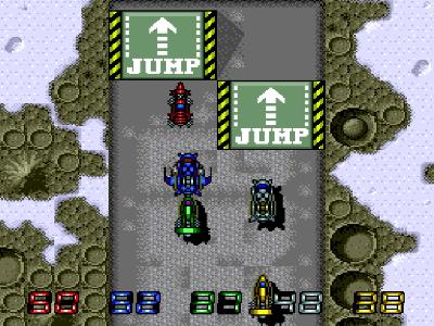 モトローダーII ゲーム画面2