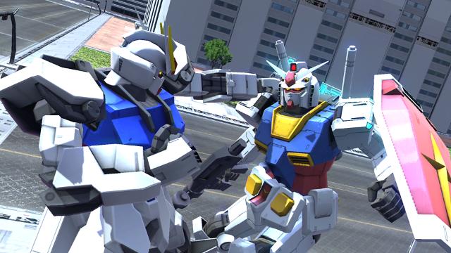 ガンダムバトルオペレーションNEXT ゲーム画面1