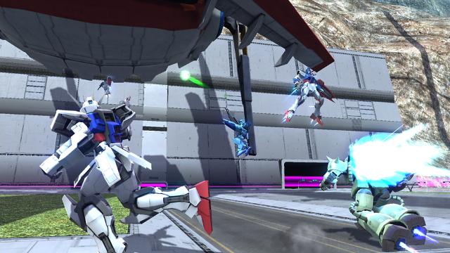 ガンダムバトルオペレーションNEXT ゲーム画面2