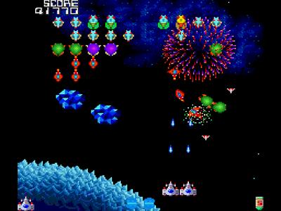 ギャラガ '88 ゲーム画面2