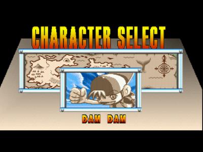 ダムダムストンプランド ゲーム画面2