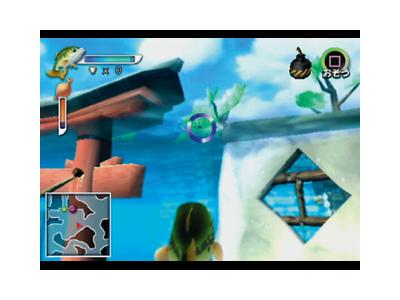 うお 7つの水と伝説のヌシ ゲーム画面4