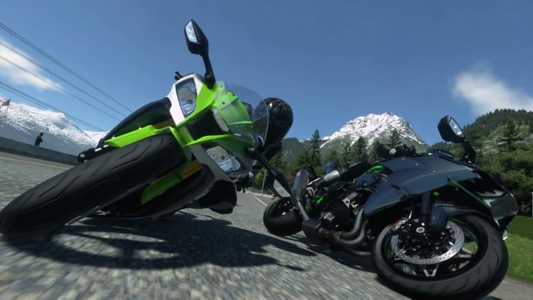 『DRIVECLUB Bikes』ゲーム画面