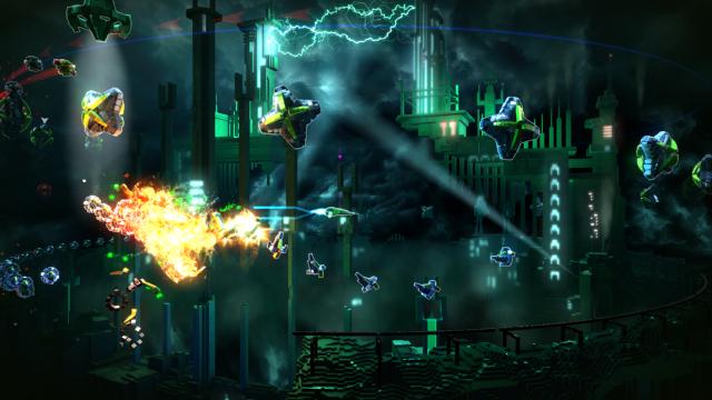 RESOGUN ゲーム画面2