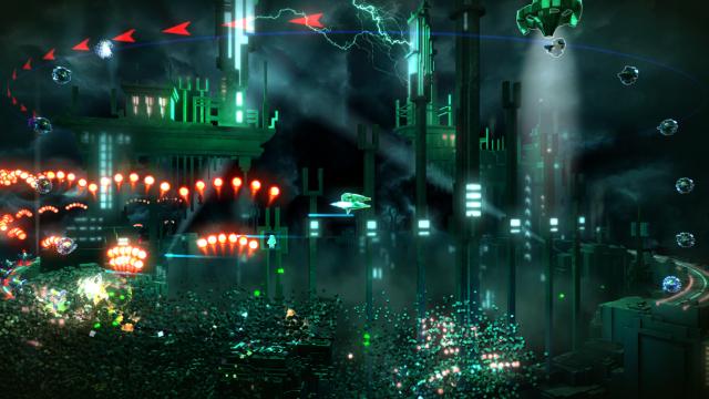RESOGUN ゲーム画面3