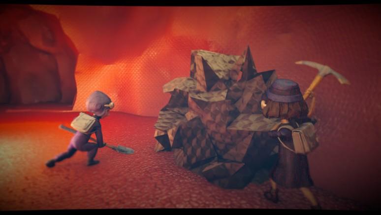 『The Tomorrow Children』ゲーム画面