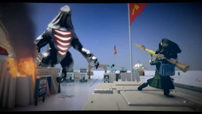 『The Tomorrow Children』ゲーム画面