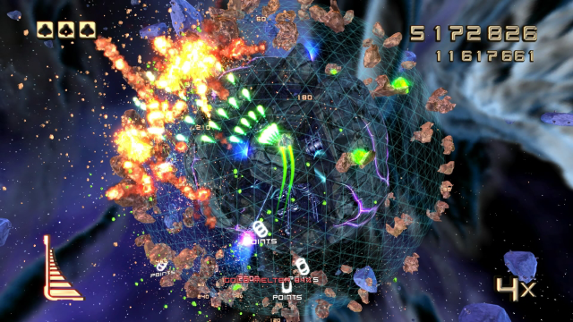 STAR STRIKE ULTRA ゲーム画面3