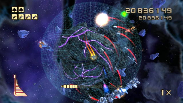 STAR STRIKE ULTRA ゲーム画面4
