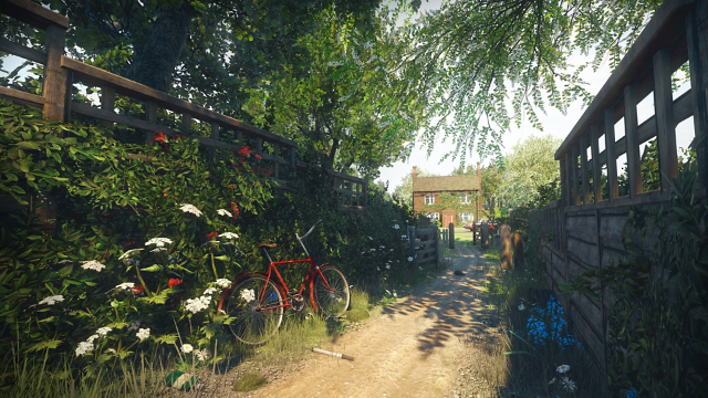 Everybody's Gone to the Rapture -幸福な消失- ゲーム画面2
